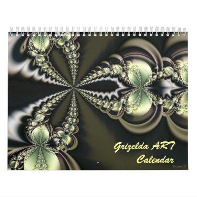 Calendario del ARTE 2008 de Grizelda