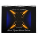 Calendario del arte 2009 de Digitaces del fractal