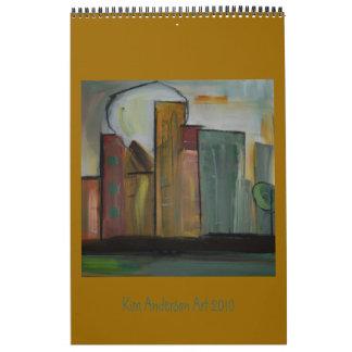 Calendario del arte 2010 de Kim Anderson