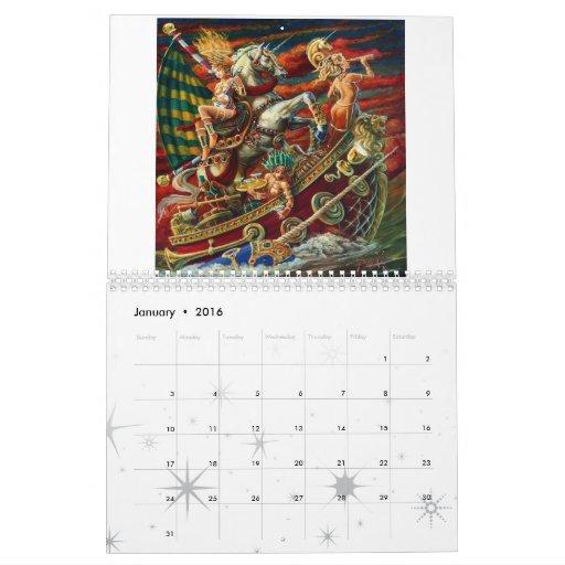 Calendario del arte 2011 de Michael Pukac