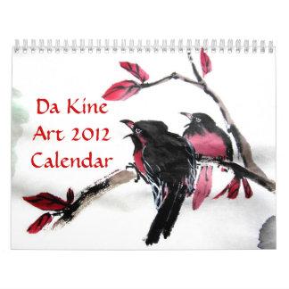 Calendario del arte 2012 de DA Kine