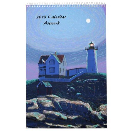 Calendario del arte 2013