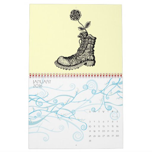 Calendario del arte 2014 del dibujo