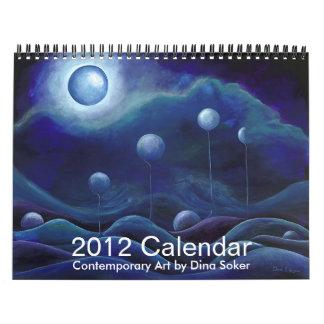 Calendario del arte contemporáneo 2012 de Dina Sok