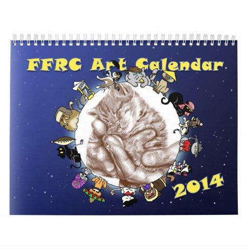 Calendario del arte de 2014 FFRC