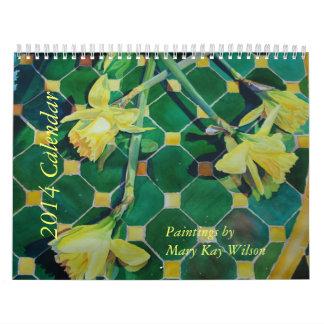 Calendario del arte de 2014 M K Wilson