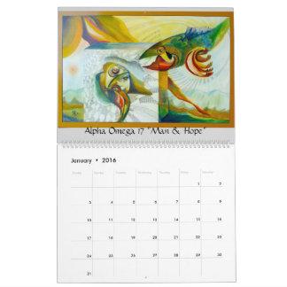 Calendario del arte de Crisman