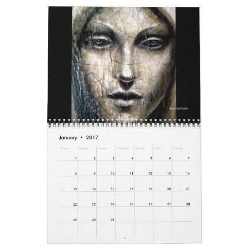 Calendario del arte de Dori Hartley - las pinturas