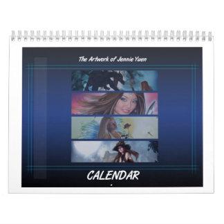 Calendario del arte de la fantasía - versión 1