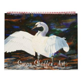 Calendario del arte de Susan Shaffer