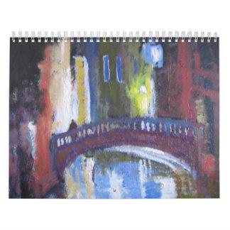 calendario del arte de Venecia