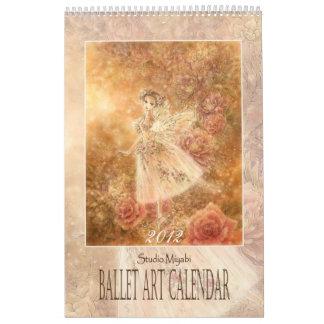 Calendario del arte del ballet