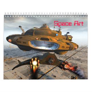 Calendario del arte del espacio