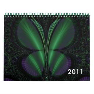 Calendario del arte del fractal