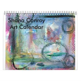 Calendario del artista de Shana Conroy