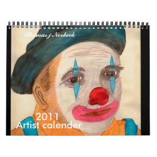Calendario del artista y del poeta de Thomas J
