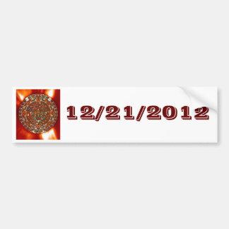 Calendario del Azteca del maya de la pegatina para Pegatina De Parachoque
