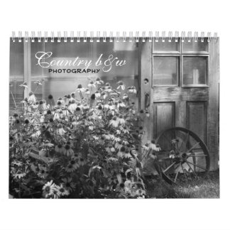 Calendario del b&w 2011 del país
