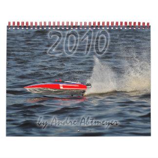 Calendario del barco de 2010 RC