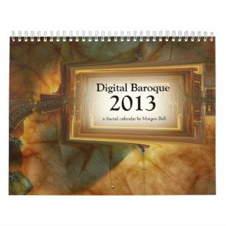 Calendario del Barroco 2013 de Digitaces