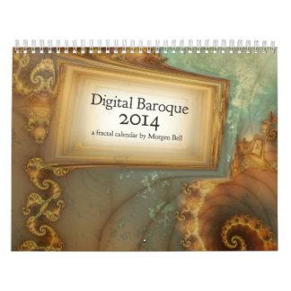 Calendario del Barroco 2014 de Digitaces
