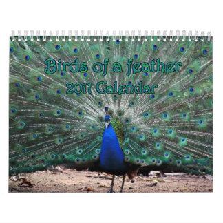 Calendario del Birds of a Feather 2011