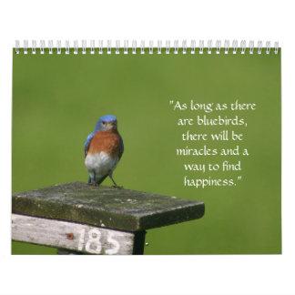 calendario del bluebird