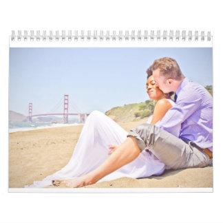 Calendario del boda de Claudia y de Scott