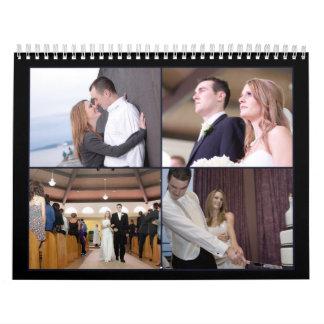 Calendario del boda de G&K