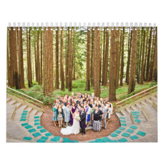 Calendario del boda de Luis y de Jessica
