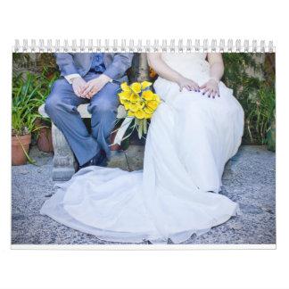 Calendario del boda de Ralu y de Zach