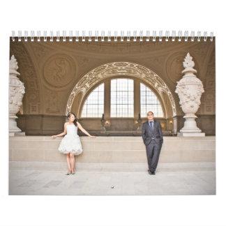 Calendario del boda de Roselie y de Andiemar