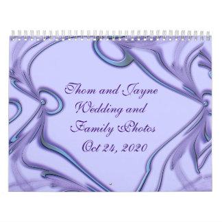 Calendario del boda o de la familia - añada sus