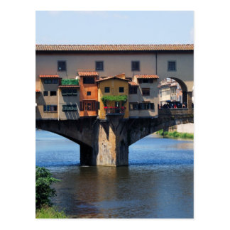 Calendario del bolsillo de Ponte Vecchio 2012 Tarjeta Postal