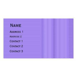 Calendario del bolsillo del diseño de las rayas tarjetas de visita