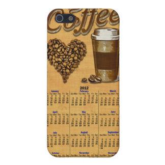 Calendario del café 2012 iPhone 5 fundas