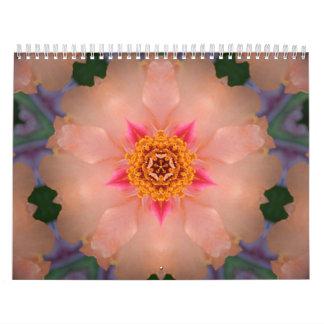 Calendario del caleidoscopio/de la mandala