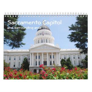 Calendario del capitolio de Sacramento