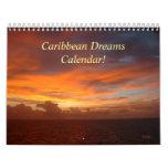 Calendario del Caribe de los sueños