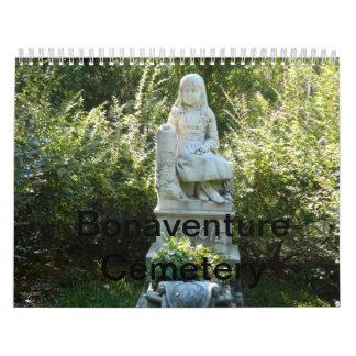 Calendario del cementerio 2013 de Bonaventure