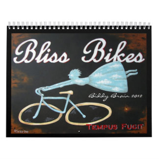 Calendario del cerebro 2012 del Biddy