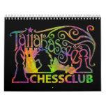 Calendario del club de ajedrez de Tallahassee