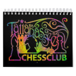 Calendario del club de ajedrez de Tallahassee pequ