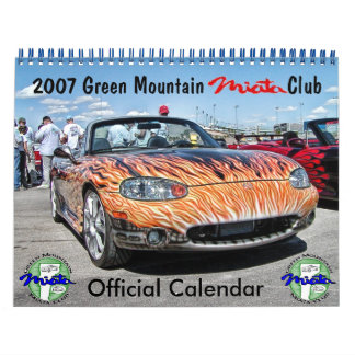 Calendario del club de Miata