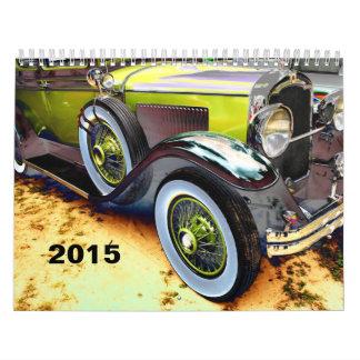 Calendario del coche antiguo del PREMIO 2015 de