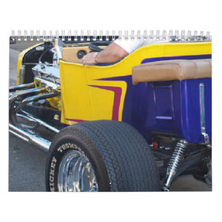 Calendario del coche de carreras #1