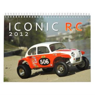 calendario del coche de IconicRC.com 2012 RC