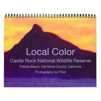 Calendario del color de 2015 Local