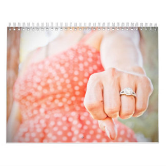 Calendario del compromiso de Dianne y de Tony