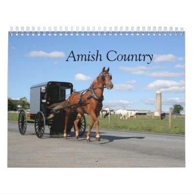 Calendario del condado de Lancaster Amish
